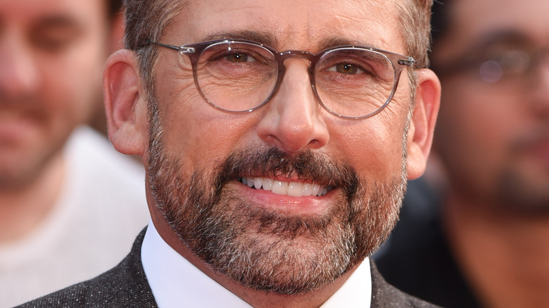 Steve Carell close-up with glasses