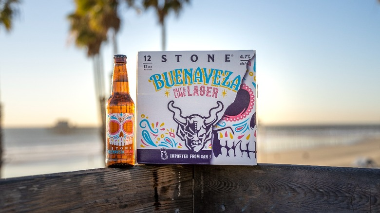 12-pack of new lager from Stone Brewing