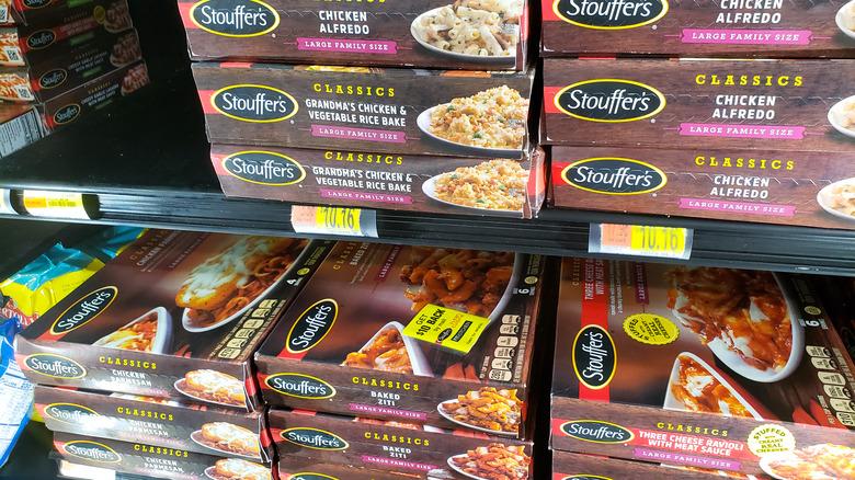 Stouffer's frozen dinners