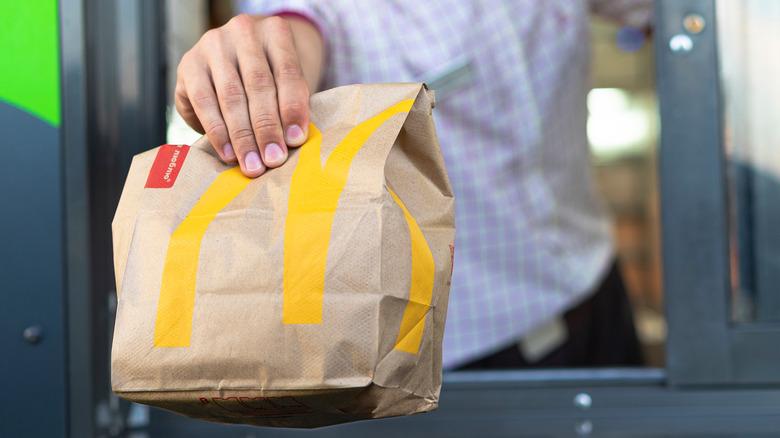 Drive thru fast food desserts