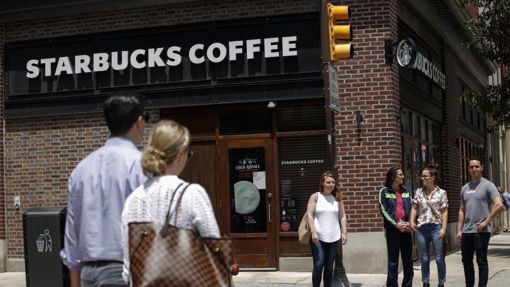 Starbucks store exterior