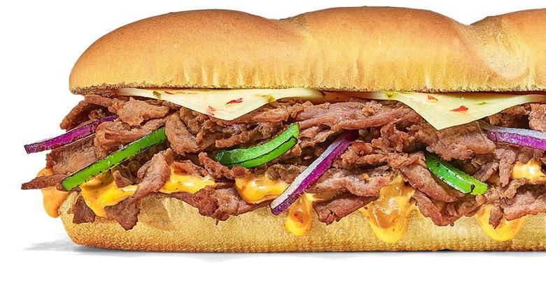 New Subway Baja steak and jack sub