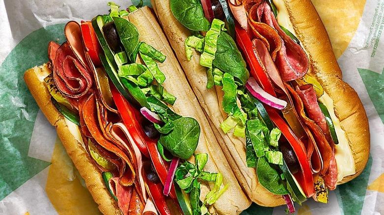 new subway sandwich