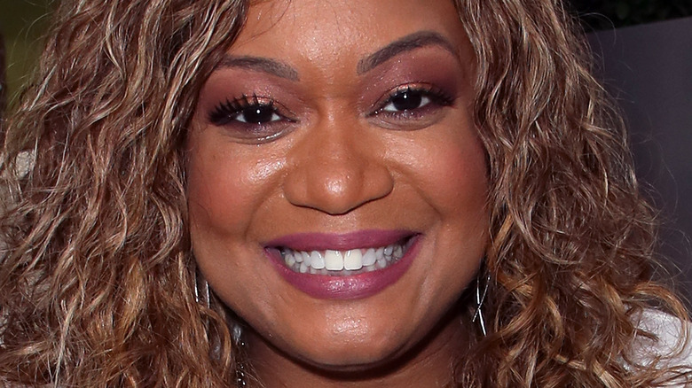 Sunny Anderson smiling
