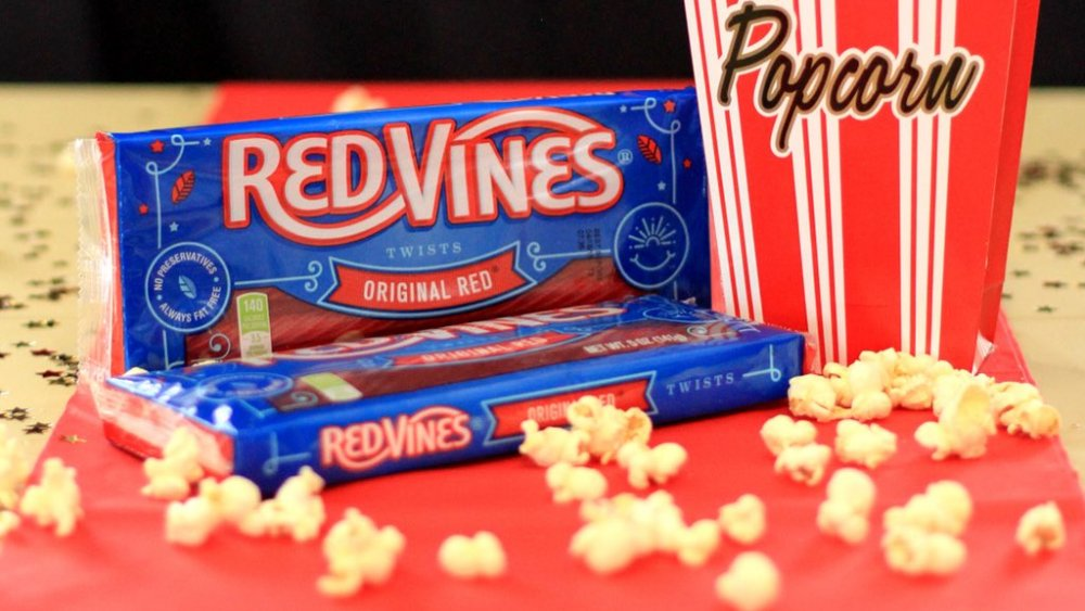 Red Vines movie candy
