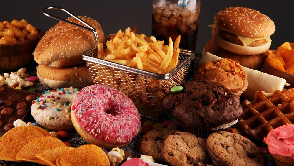 popular junk food