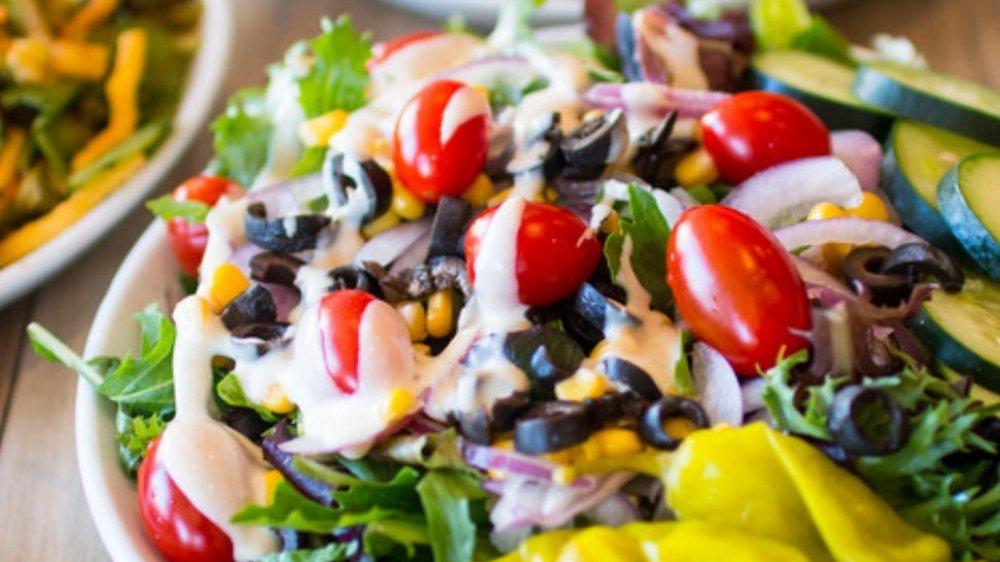 Souplantation salad