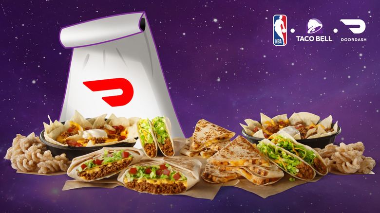 Taco Bell NBA special promotion image