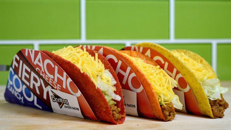 taco bell doritos tacos