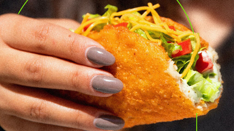 Taco Bell plant based Naked Chalupa