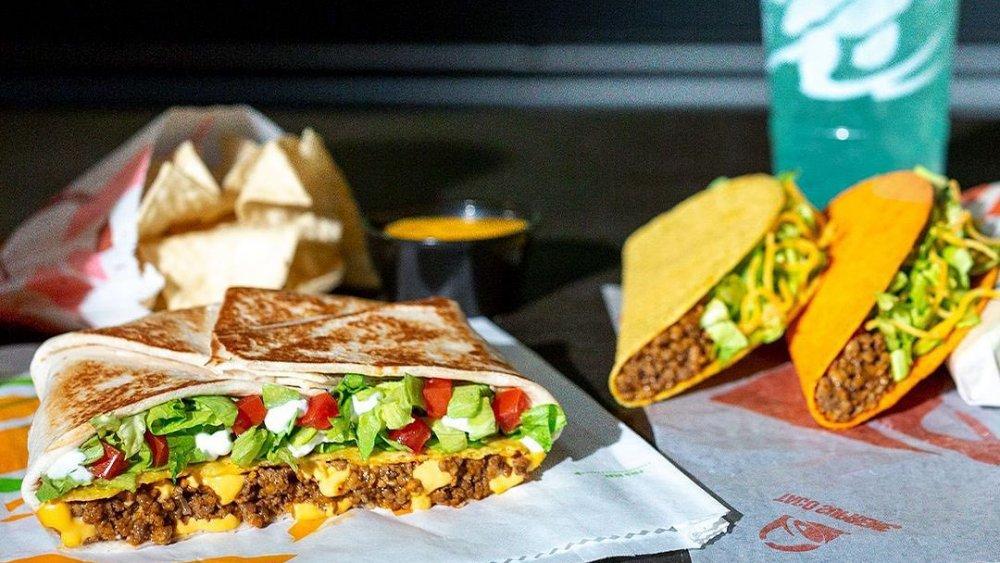 Taco Bell menu items