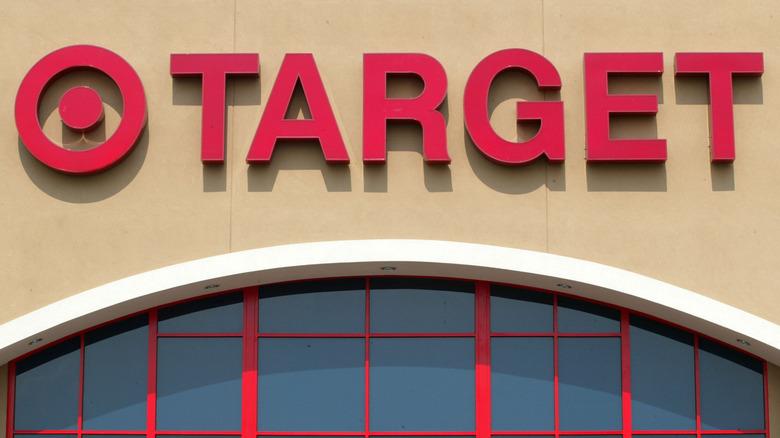 Target exterior sign