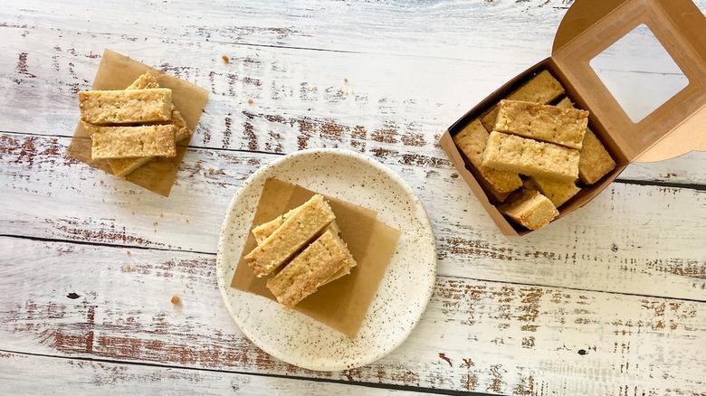 Ted Lasso's shortbread biscuits copycat recipe