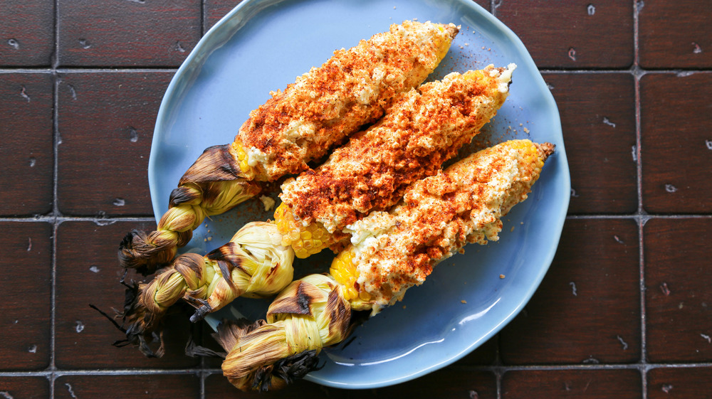 5-ingredient Mexican street corn served
