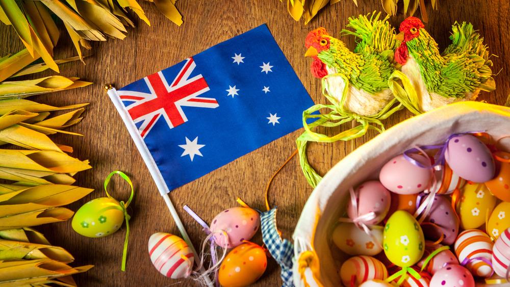 Australian Easter celebration concept
