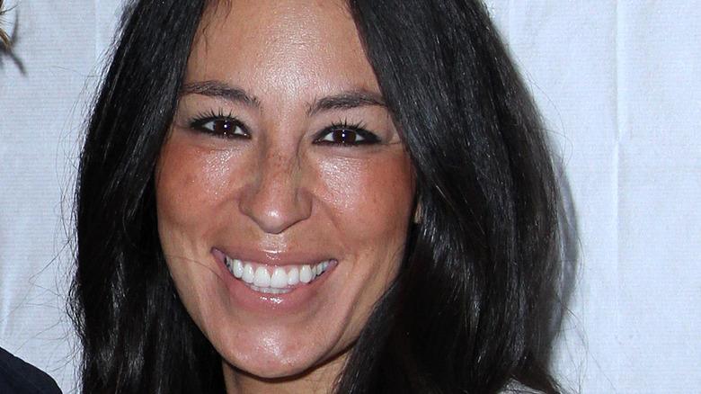 Closeup of Joanna Gaines smiling