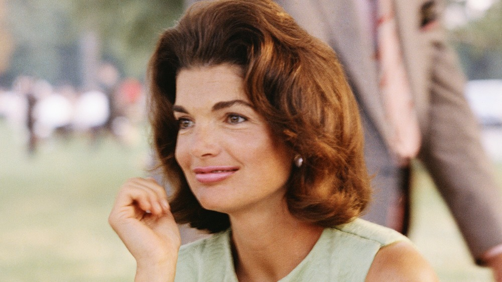 Former First Lady Jacqueline Kennedy