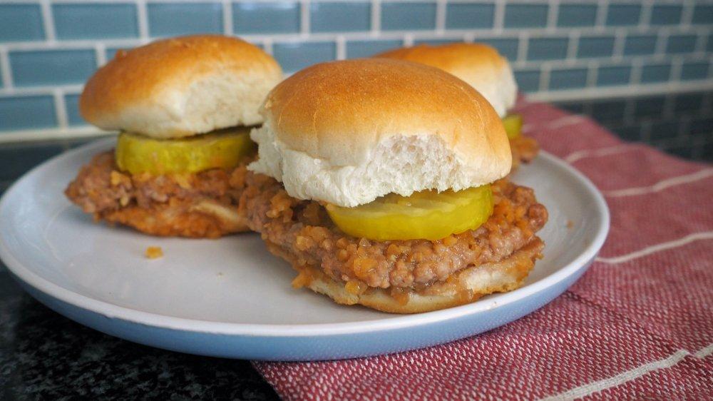 5-ingredient White Castle hamburgers