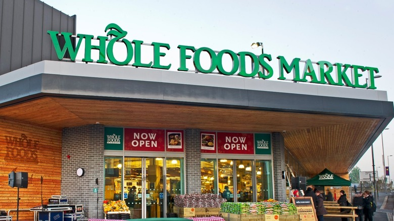 The outside of a Whole Foods Market