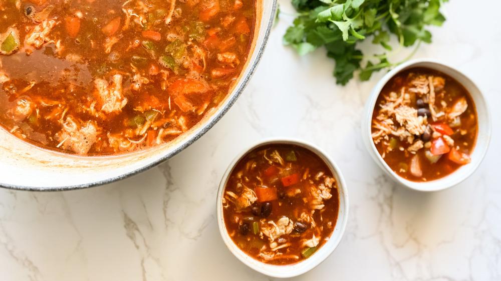 enchilada soup recipe