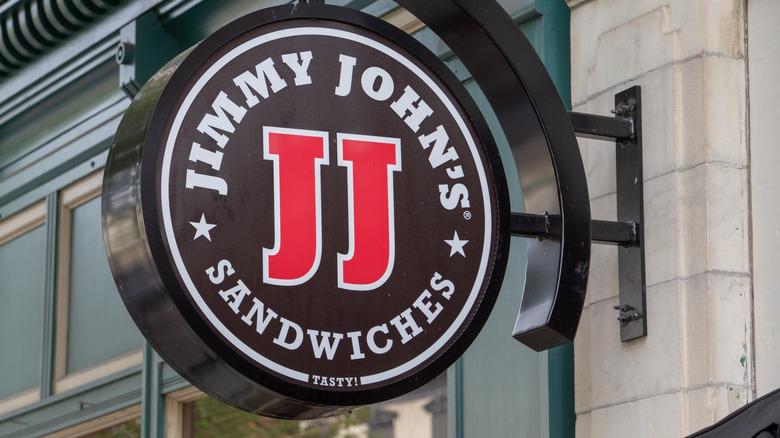 Jimmy John's sign exterior