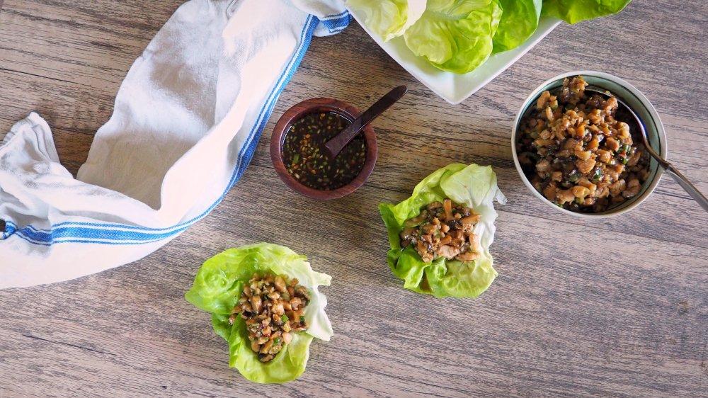 copycat PF Chang's lettuce wrap