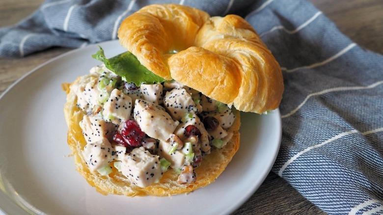 Trader Joe's copycat chicken salad sandwich