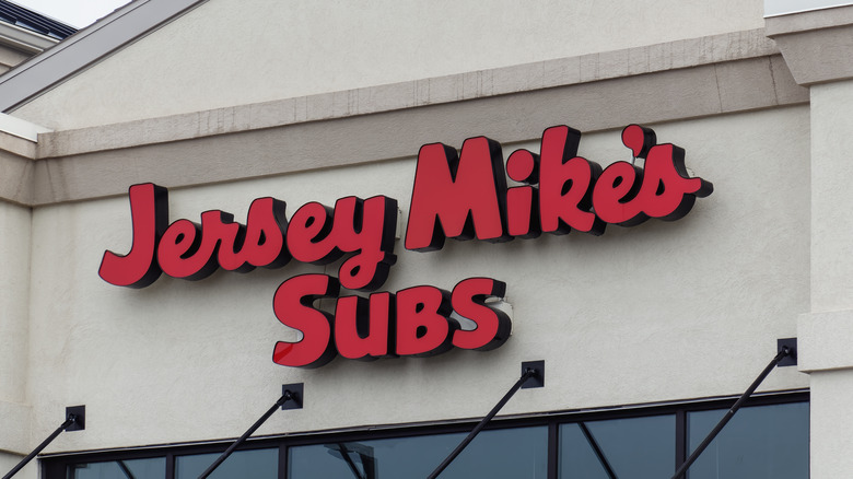Jersey Mike's store sign