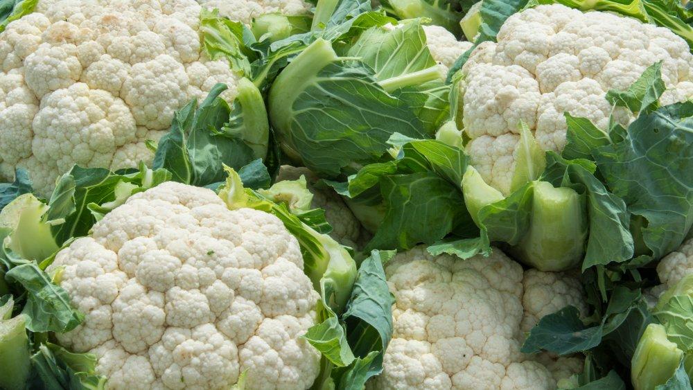 mound of cauliflower