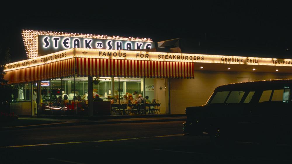 Steak 'n Shake exterior building