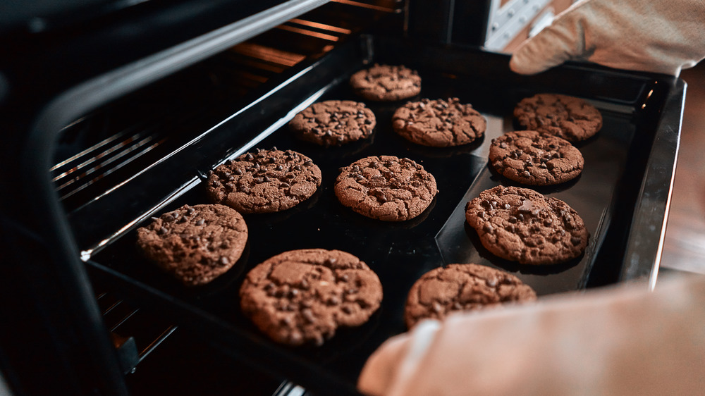 A generic image of someone baking cookies