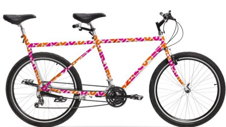Dunkin' tandem bike