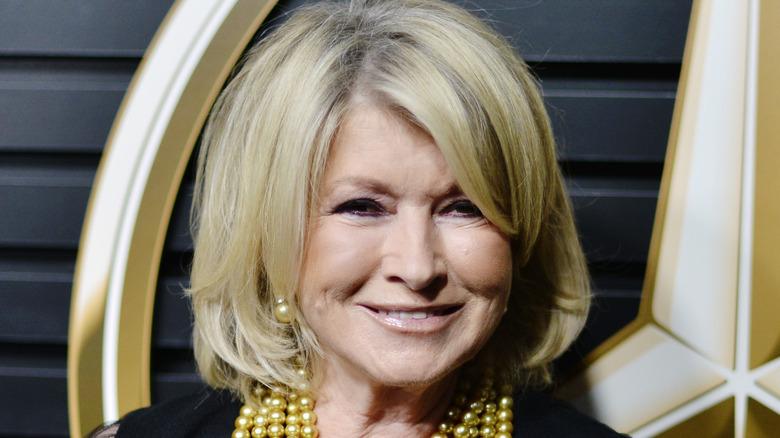 Close up of Martha Stewart