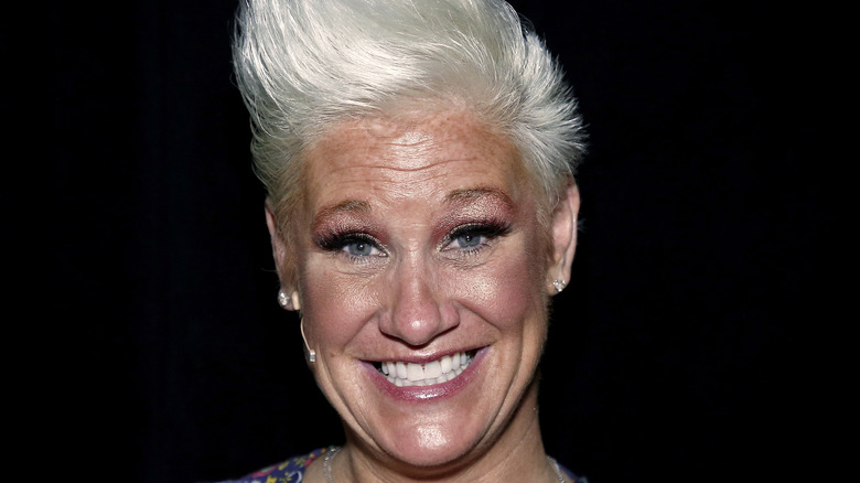 Close-up of Anne Burrell