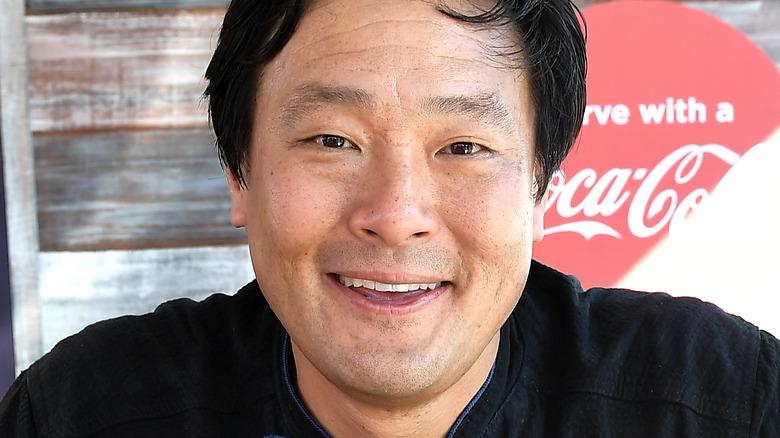 Chef Ming Tsai at a book signing