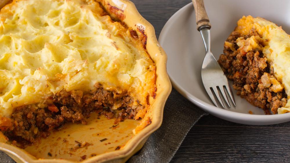 Shepherd's pie in a bowl