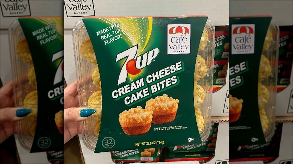 7UP cheese cake bites