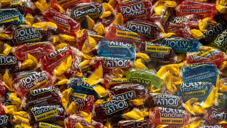 Wrapped Jolly Rancher candies