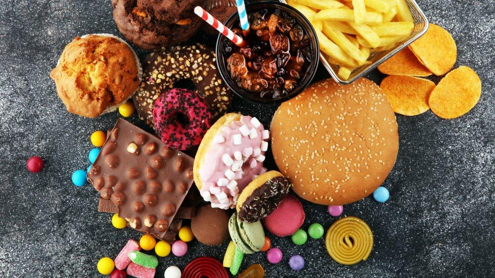Yummy junk food