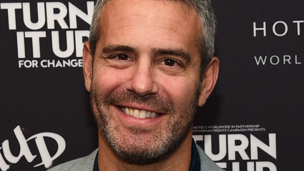 Andy Cohen with a beard