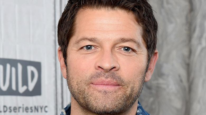 Misha Collins closeup