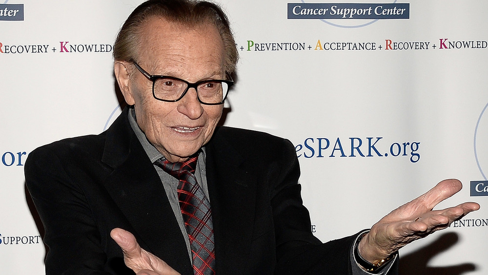 Larry King excited