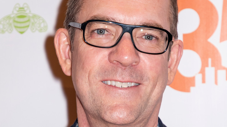 Ted Allen in glasses