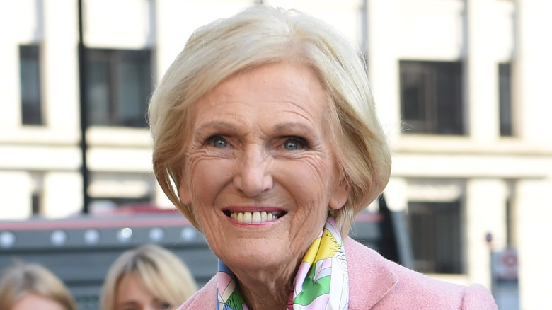 Mary Berry smiling