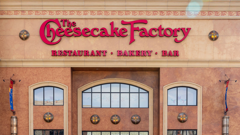 The Cheesecake Factory from outside