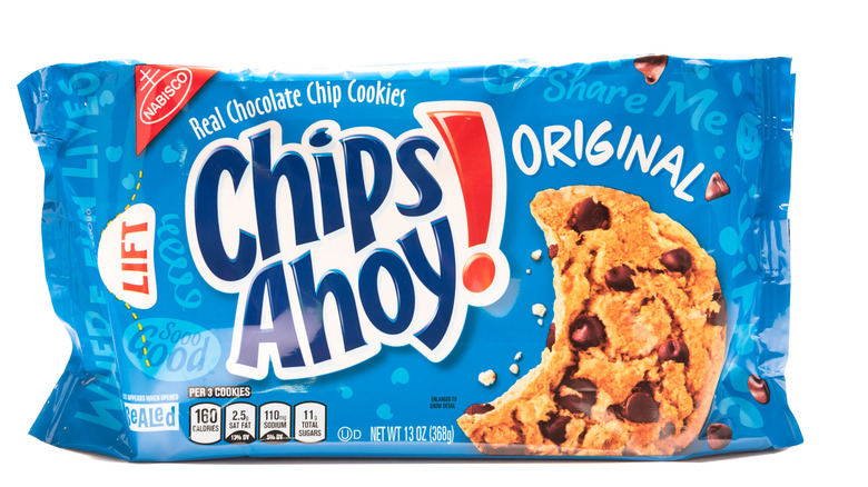 Chips Ahoy package
