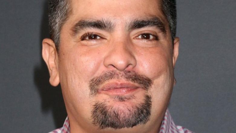 Aarón Sánchez smiling