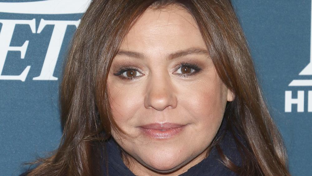 Rachael Ray in brown eyeshadow