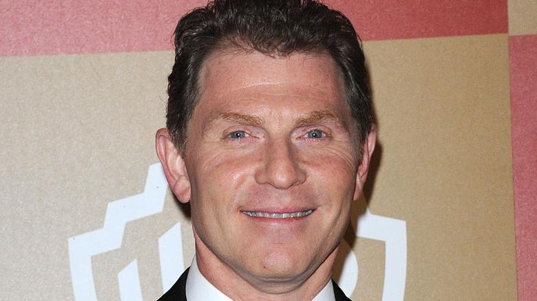 Bobby Flay smiling close-up