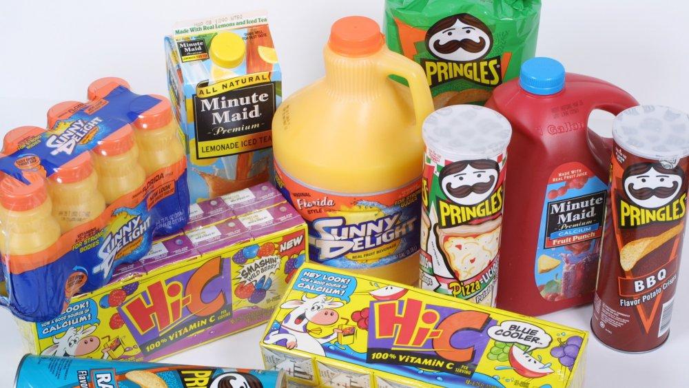 Sunny Delight junk food